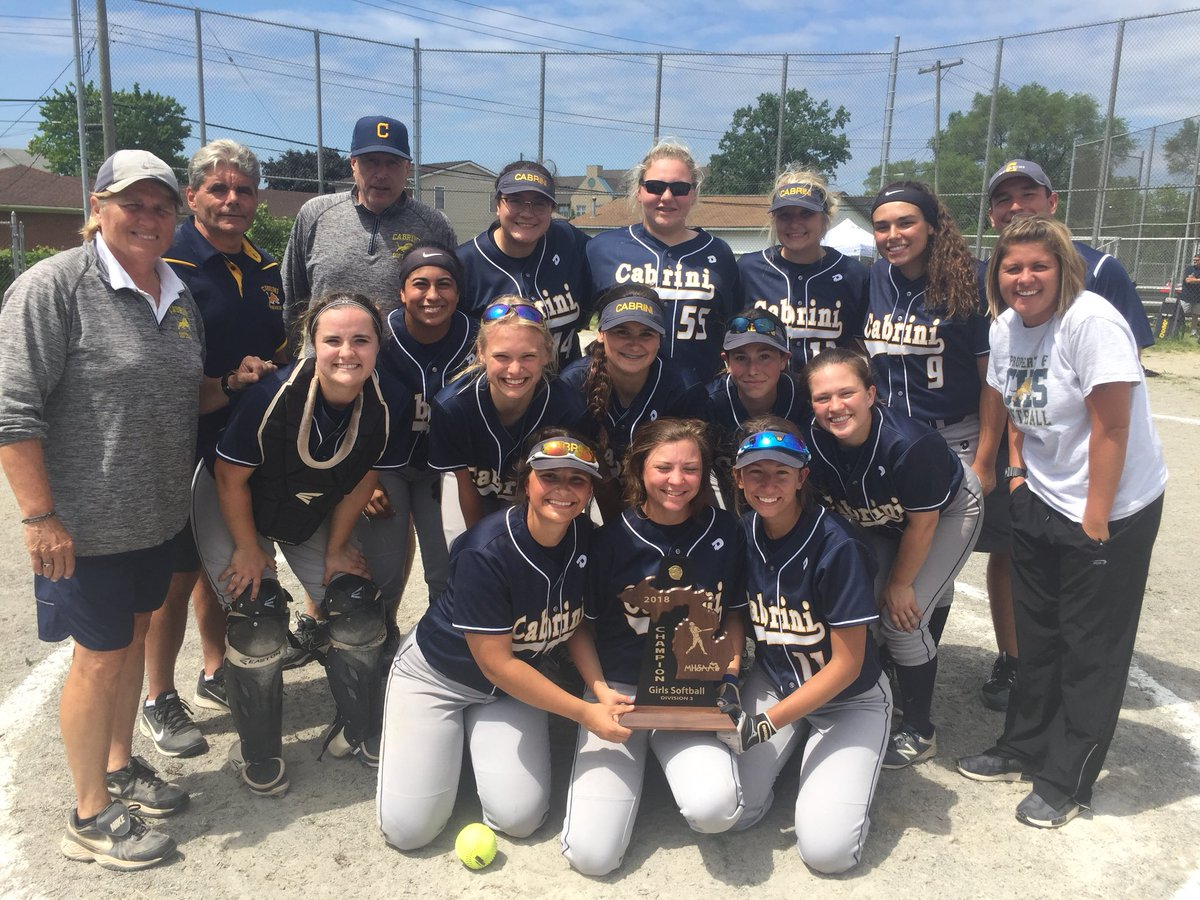 Softball Defeats GR for District Title!
