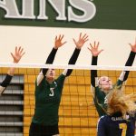 Lady Dragons knock off Wolves in volleyball district playoffs