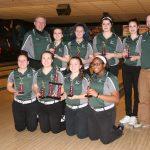 Lake Orion Community High School Girls Varsity Bowling beat Lakeview High School 182-171