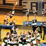 Lake Orion varsity competitive cheer team finished first in Hartland Invitational