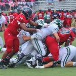 Dragons upset Warriors in physical football battle