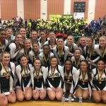 Lake Orion Community High School Girls Varsity Competitive Cheer finishes 3rd place