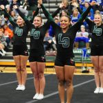 Lake Orion Community High School Girls Varsity Competitive Cheer finishes 2nd place