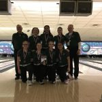 Lake Orion Community High School Girls Varsity Bowling finishes 1st place