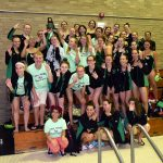LOHS GIRLS' SWIM & DIVE WINS FOURTH CONSECUTIVE WARRIOR RELAYS TITLE