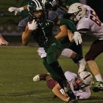 Lake Orion Varsity Football beat Seaholm High School 45-7