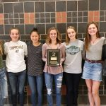 Girls Cross Country Team Honored as Academic All-State
