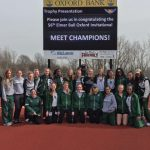 Girls Varsity Track finishes 1st place at Invitational @ Oxford High School