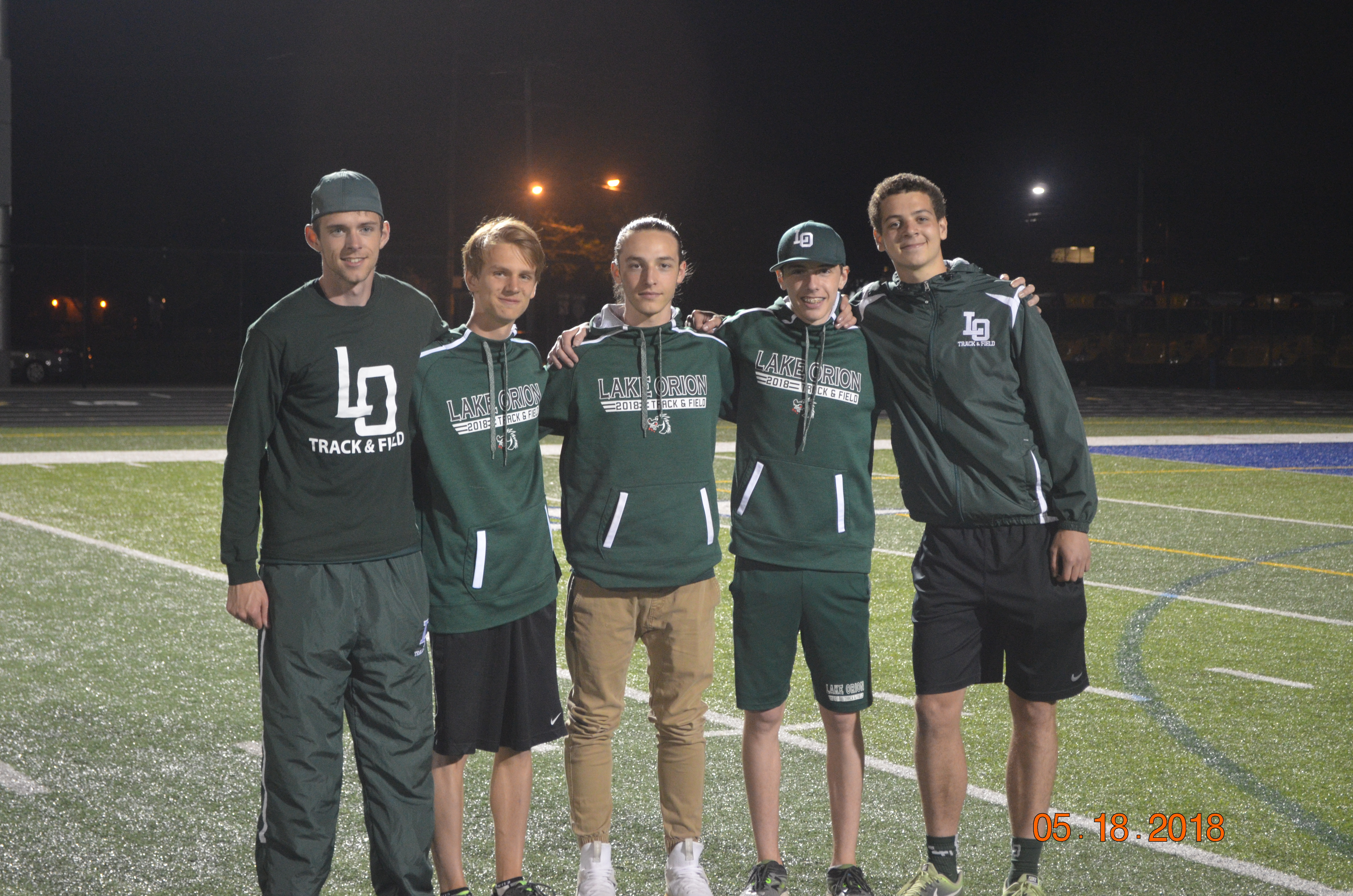 Men's Track and Field 2nd in Regionals, qualifies 5 to State Meet!