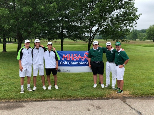 Dragons Golf Team Finishes Strong at the State Finals