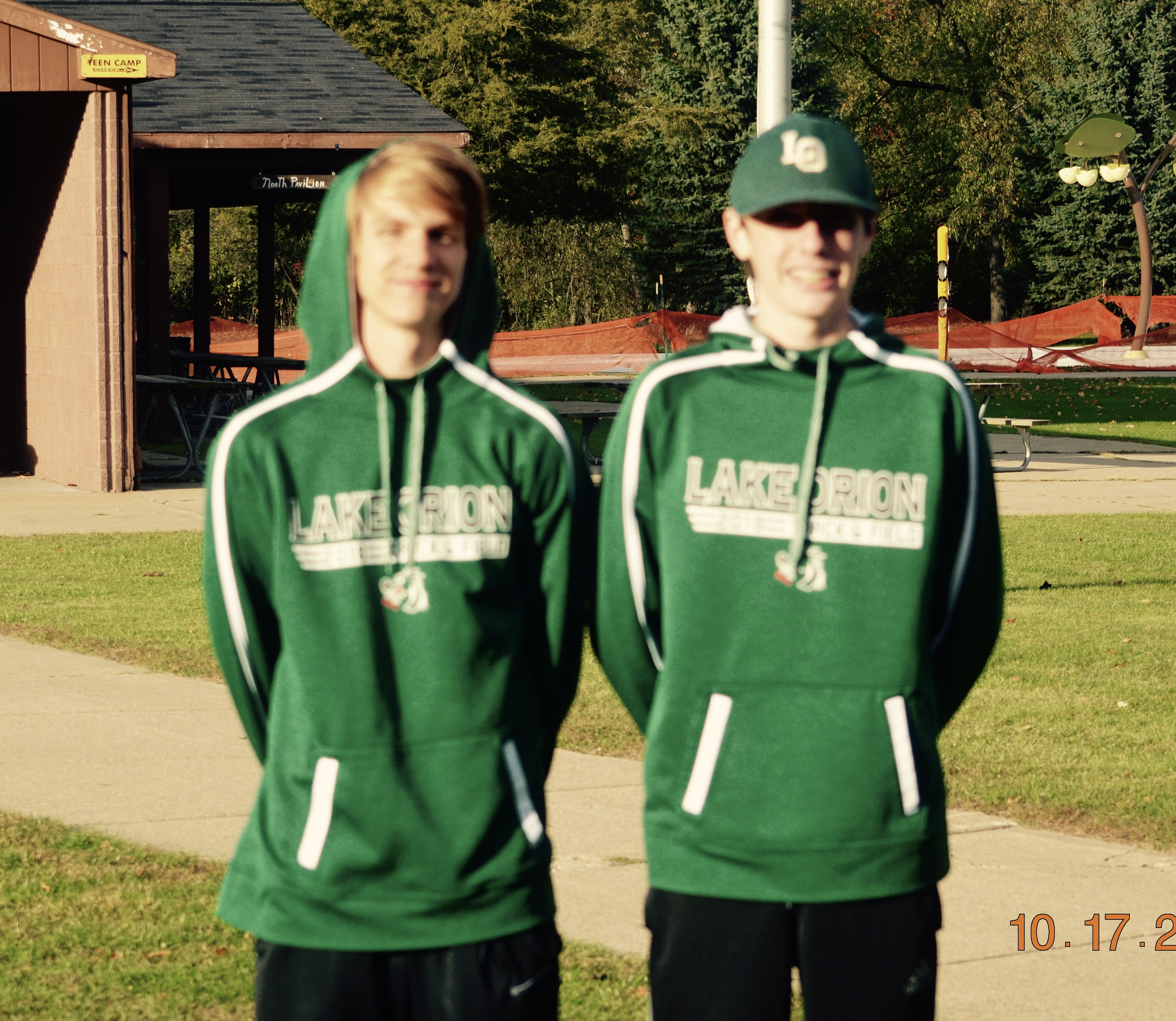 Nolan and Mulcahy Earn All-League in Cross Country