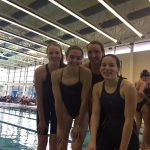 Dragon Girls Swimmers Place 10th at Oakland County Swim Meet