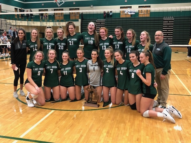 Lake Orion Dragons Volleyball: Regional Champions