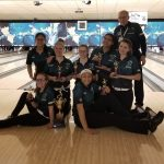 Girls Varsity Bowling Finishes 1st Place at the Tri-County Invitational and they are now the First Girls Team in the State to Bowl a 300 Baker Game