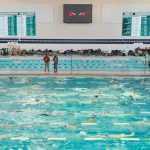 Dragons host 2019 Oakland County Swim and Dive Tournament