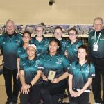 Girls Varsity Bowling finishes 2nd place at OAA Div. Tourn/Meet @ Astro Lanes Bowling