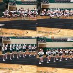 Dragons Varsity Cheer Advances to MHSAA Regionals