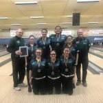 Girls Varsity Bowling finishes 2nd in the Regional Tune Up Tournament @ Richfield Lanes
