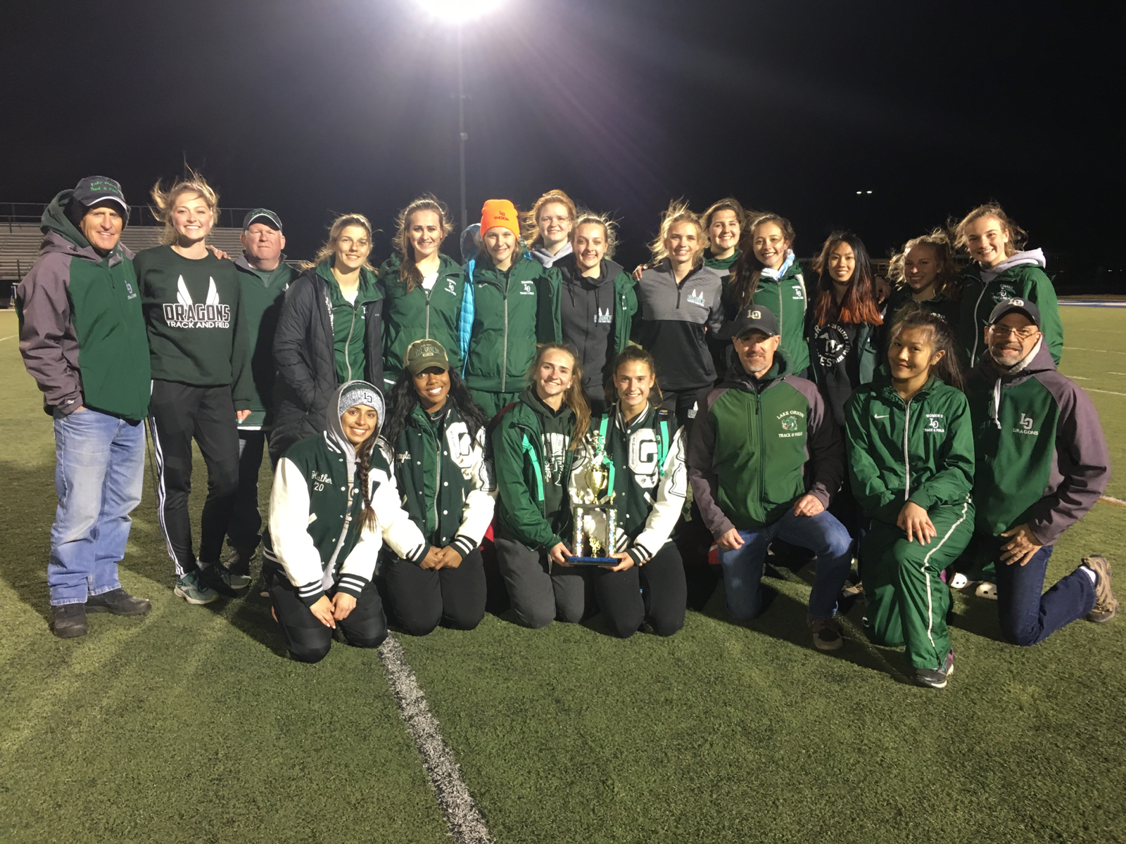 Girls Track & Field Team Finishes 2nd at Tri-County Invitational