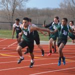 Men's Track wins vs Rochester High