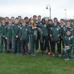 Men's 9th and 10th Grade Track and Field – 1st Place at Fenton.