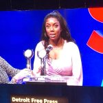 Makayla Allen Honored with the Detroit Free Press Courage Award
