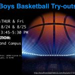 Boys Basketball Try-Outs 2017-18