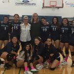 Girls' Volleyball Advance to Playoffs