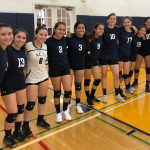 Hot Start For Eagles Volleyball