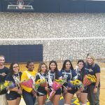 Volleyball soars on to victory on Senior Night!