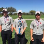 Varsity Boys Golf take 1st, 2nd, and 3rd at Mustang Invitational in San Marcos!