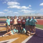 Varsity Girls Track Compete Very Well at Area Meet!!!