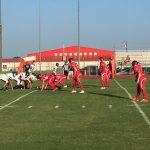 Salado High School Freshman Football beat Taylor High School 30-0