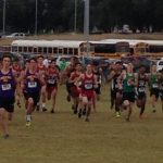 Salado High School Boys Varsity Cross Country finishes 4th place