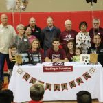 Congratulations to Camden LaCanne who has signed to Play Soccer at Schreiner!!!