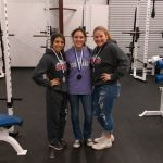Three Lady Eagle Power Lifters qualify for Regionals