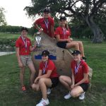 Salado Coed Junior High Golf finishes 1st place
