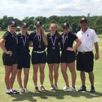 Salado High School Girls Varsity Golf finishes 2nd place