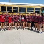 Varsity Lady Eagles Meet Champions at Gatesville