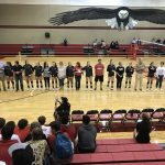 Eagle Volleyball Against Llano at Home