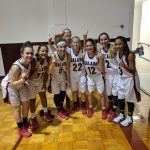 Freshman lady Eagles were undefeated at Cameron tournament