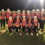 The Lady Eagles softball sweep Lampasas and stay hot in district play