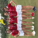 Girls Varsity Golf finishes 2nd place at District Tournament Round 2