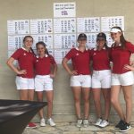 Girls Varsity Golf finishes 6th place at 4A State Tournament
