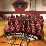 JH Volleyball A Teams at Belton Tournament