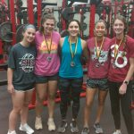 Boys and Girls compete at Academy Power Lifting Meet