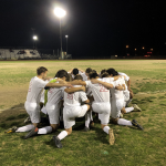 The Varsity Eagles Soccer team shuts out Lampasas