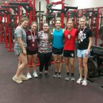 Lady Eagle Power Lifting Finishes Regular Season