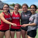 High School Track Competes in Area Meet