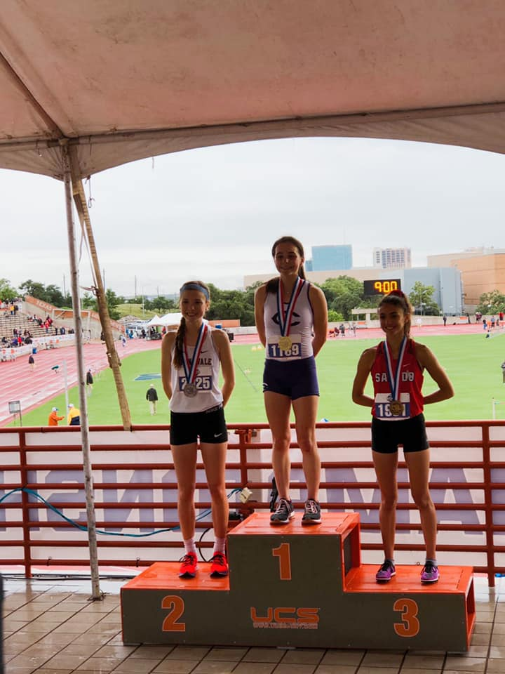McGregor & Haas Compete at State Track Meet